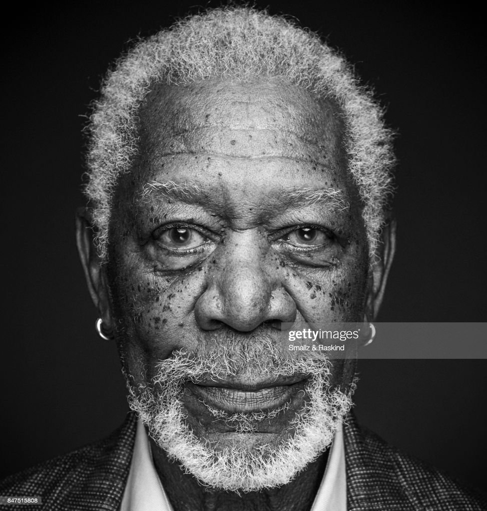 Actor Morgan Freeman poses for portrait session at the 2017 Summer TCA session for National Geographic Channel's 'The Story of Us with Morgan Freeman' on July 25, 2017 in Beverly Hills, California.