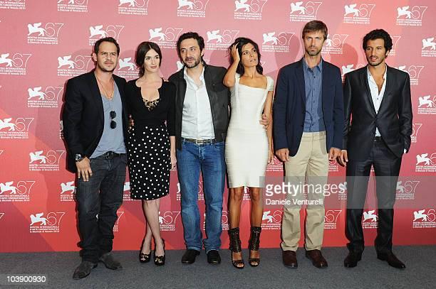 Actor Moritz Bleibtreu actress Paz Vega actor Filippo Timi actress Valeria Solarino actor Kim Rossi Stuart and actor Francesco Scianna attend the...
