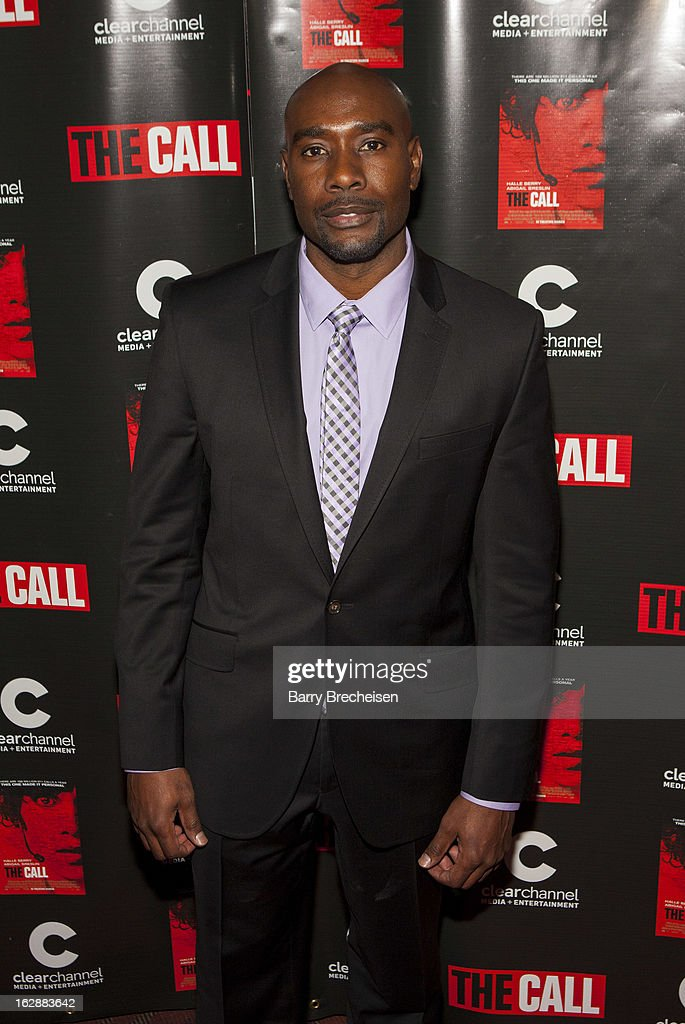 Actor <a gi-track='captionPersonalityLinkClicked' href=/galleries/search?phrase=Morris+Chestnut&family=editorial&specificpeople=707699 ng-click='$event.stopPropagation()'>Morris Chestnut</a> attends 'The Call' premiere at Showplace Icon Theater on February 28, 2013 in Chicago, Illinois.