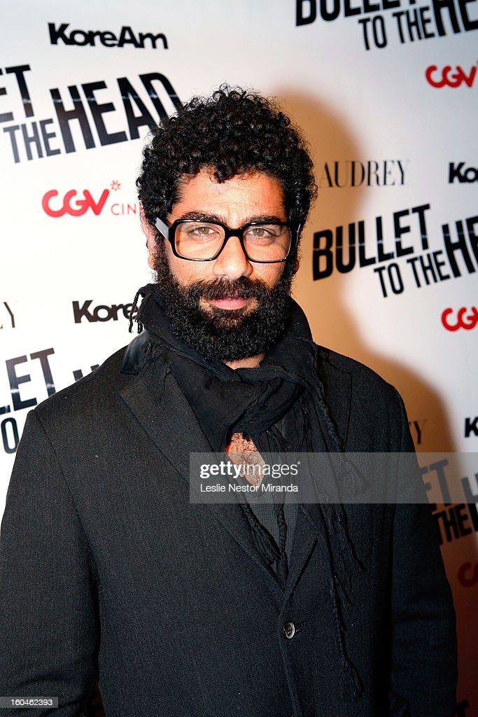 Actor Mousa Kraish attends 'Bullet To The Head' screening at CGV Cinemas on January 31, 2013 in Los Angeles, California.