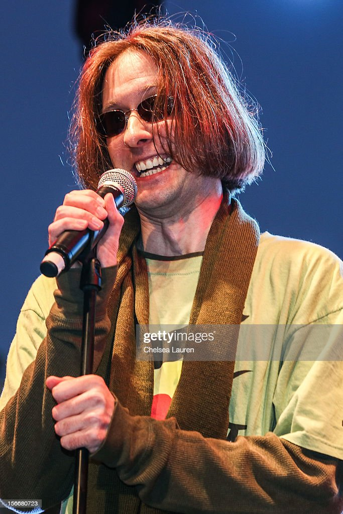 Actor Mr. Lawrence performs in the 'Spongebob Holiday Extravapants!' stage show at The Grove on November 18, 2012 in Los Angeles, California.