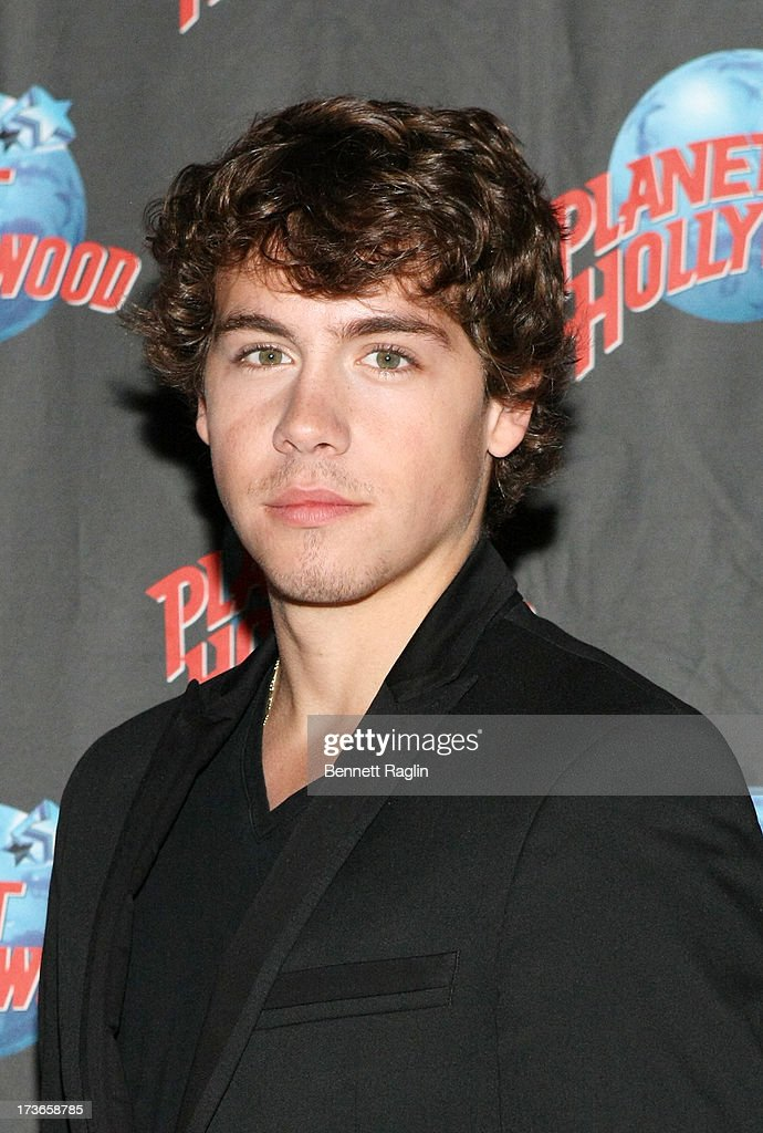 Actor Munro Chambers visits Planet Hollywood at Planet Hollywood Times Square on July 16, 2013 in New York City.