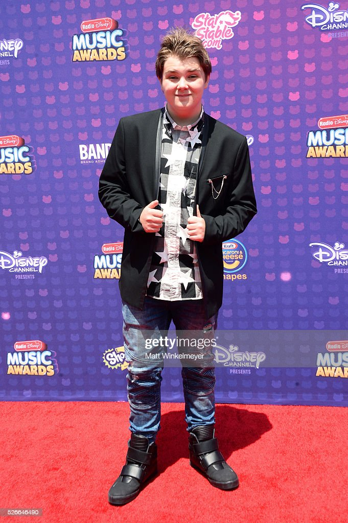 Actor Murray Wyatt Rundus attends the 2016 Radio Disney Music Awards at Microsoft Theater on April 30, 2016 in Los Angeles, California.