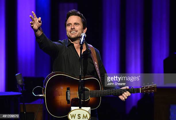 Actor/ musician Charles Esten performs at the Grand Ole Opry 90th Birthday Bash on October 3 2015 in Nashville Tennessee