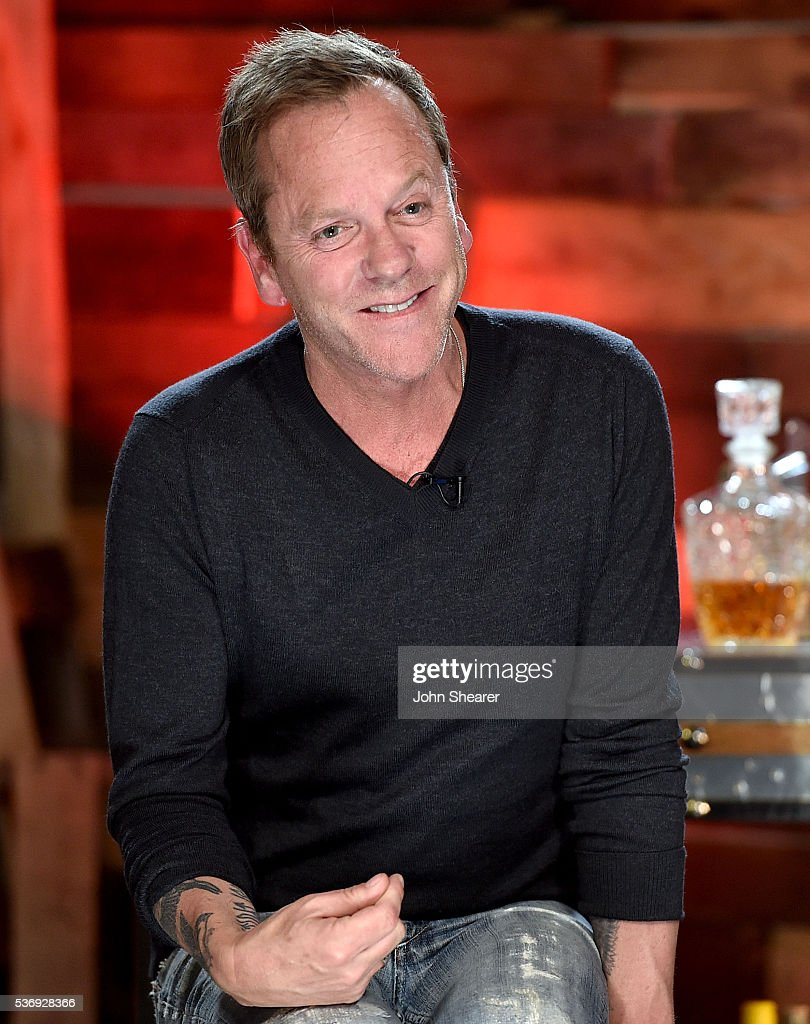 "Kiefer Sutherland Discusses New Country Album ""Down In A Hole"""