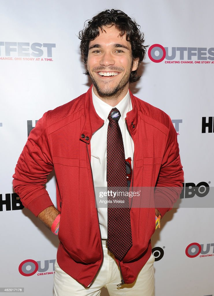 Actor Myko Olivier attends the 2014 Outfest opening night gala of 'Life Partners' at Orpheum Theatre on July 10, 2014 in Los Angeles, California.