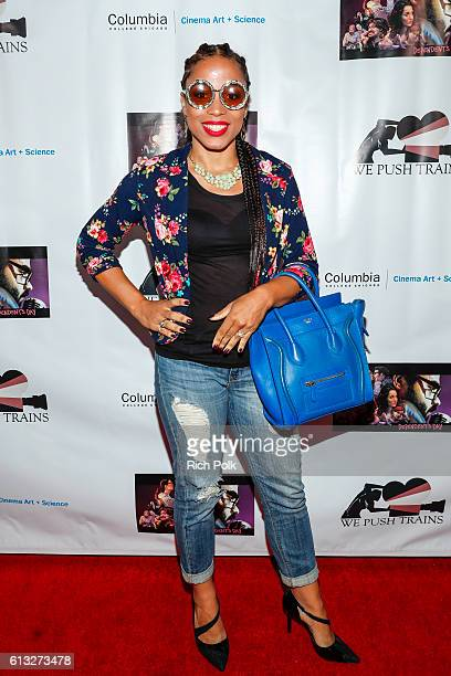 Actor Myshell Tabu arrives at the 'Dependent's Day' Theatrical Release at the Laemmle's NoHo 7 on October 7 2016 in North Hollywood California