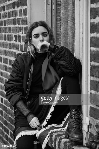 Actor Nadja Settel is photographed on February 16 2017 in Paris France