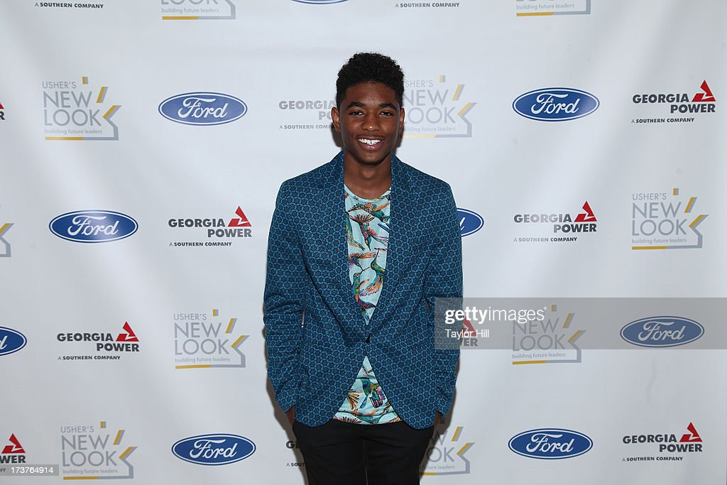 Actor <a gi-track='captionPersonalityLinkClicked' href=/galleries/search?phrase=Nadji+Jeter&family=editorial&specificpeople=2359939 ng-click='$event.stopPropagation()'>Nadji Jeter</a> attends the Usher's New Look's 2013 President's Circle Awards Luncheon at St. Regis Atlanta on July 17, 2013 in Atlanta, Georgia.