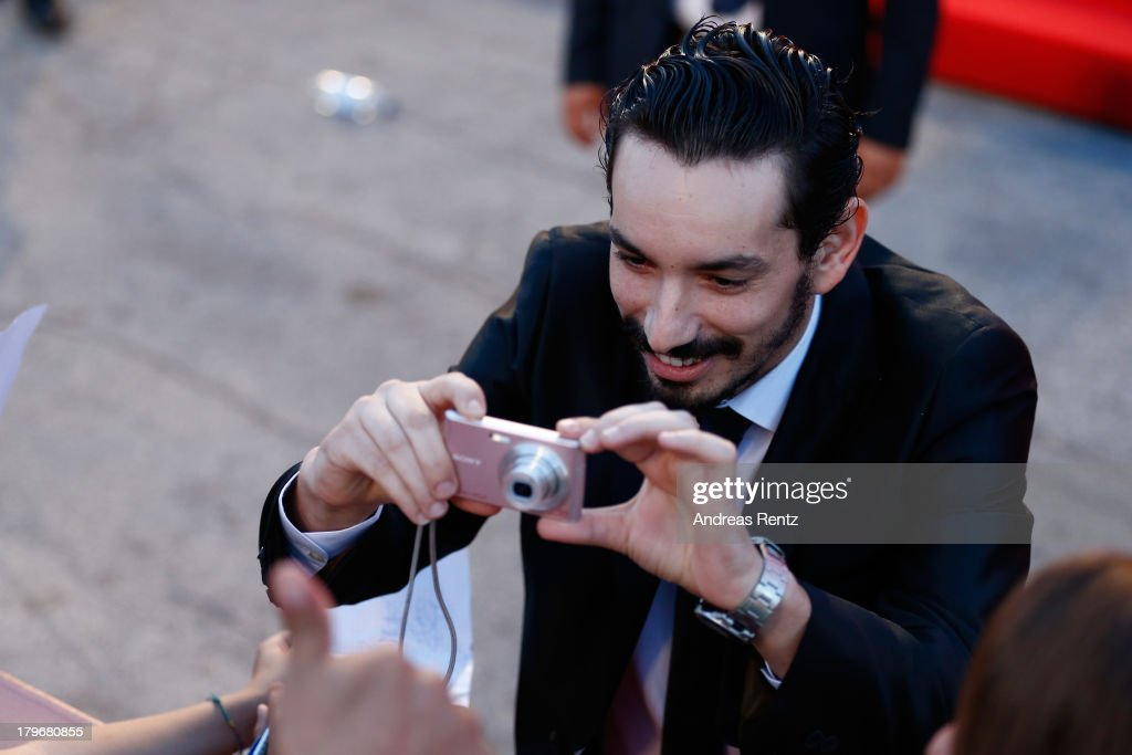 Actor Nadjib Oulebsir attends 'Les Terrasses' Premiere during the 70th Venice International Film Festival at Palazzo del Cinema on September 6, 2013 in Venice, Italy.