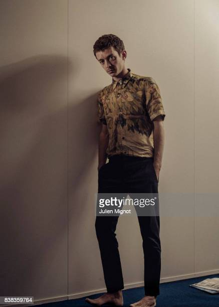 Actor Nahuel Perez Biscayart is photographed for Grazia Magazine on May 20 2017 in Cannes France