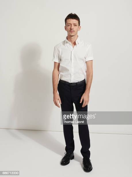 Actor Nahuel Perez Biscayart is photographed on April 12 2017 in Paris France