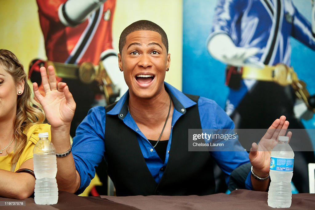 Actor Najee De-Tiege attends a press conference for Saban's Samurai Power Rangers at the 2011 San Diego Comic-Con International on July 23, 2011 in San Diego, California.