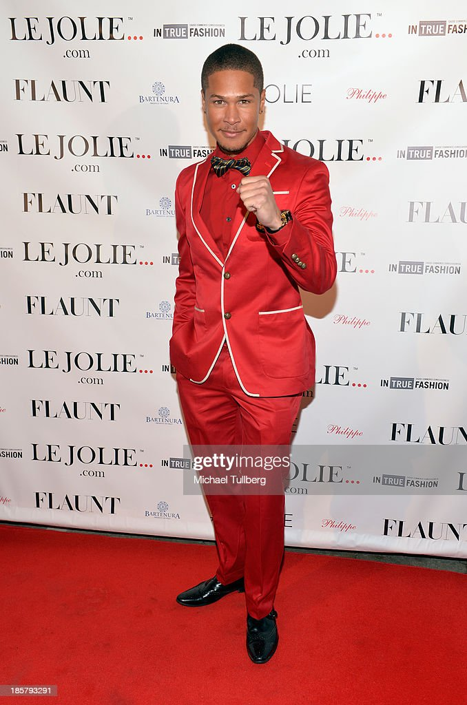 Actor Najee De-Tiege attends the LeJolie.com launch party at No Vacancy on October 24, 2013 in Los Angeles, California.