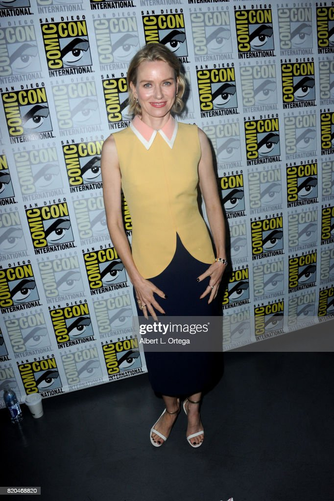 Actor Naomi Watts attends 'Twin Peaks: A Damn Good Panel' during Comic-Con International 2017 at San Diego Convention Center on July 21, 2017 in San Diego, California.