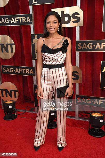 Actor Naomie Harris attends The 23rd Annual Screen Actors Guild Awards at The Shrine Auditorium on January 29 2017 in Los Angeles California 26592_009