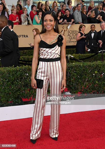 Actor Naomie Harris attends the 23rd Annual Screen Actors Guild Awards at The Shrine Expo Hall on January 29 2017 in Los Angeles California