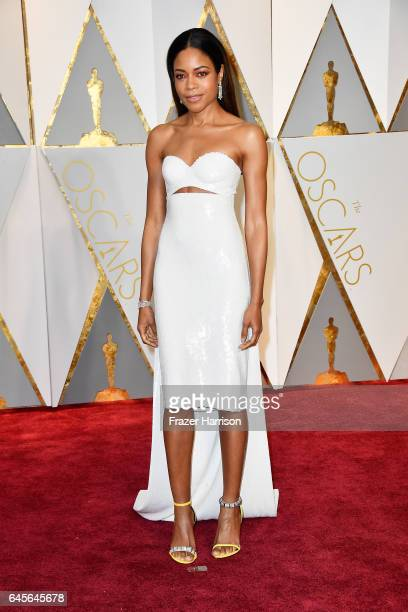 Actor Naomie Harris attends the 89th Annual Academy Awards at Hollywood Highland Center on February 26 2017 in Hollywood California