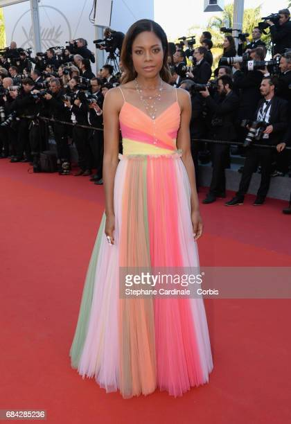 Actor Naomie Harris attends the 'Ismael's Ghosts ' screening and Opening Gala during the 70th annual Cannes Film Festival at Palais des Festivals on...