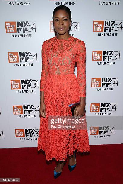 Actor Naomie Harris attends the 'Moonlight' premiere during the 54th New York Film Festival at Alice Tully Hall Lincoln Center on October 2 2016 in...