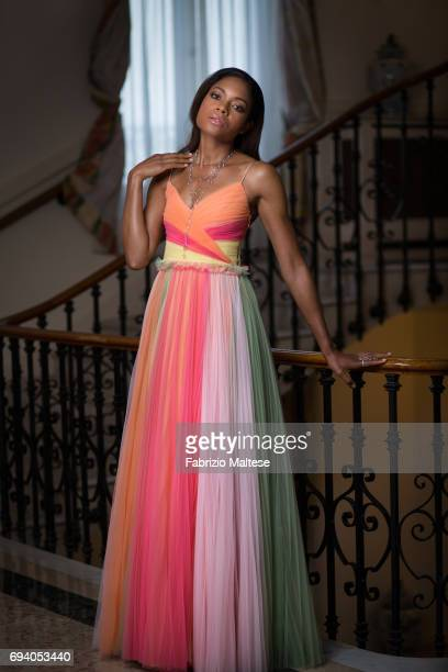Actor Naomie Harris is photographed for the Hollywood Reporter on May 15 2017 in Cannes France