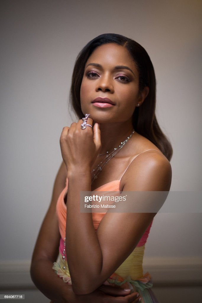Actor Naomie Harris is photographed for the Hollywood Reporter on May 15, 2017 in Cannes, France.