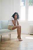 Actor Naomie Harris is photographed for the Telegraph on June 6 2012 in London England