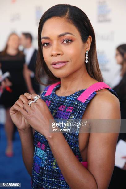 Actor Naomie Harris with Piaget at the 2017 Film Independent Spirit Awards at Santa Monica Pier on February 25 2017 in Santa Monica California
