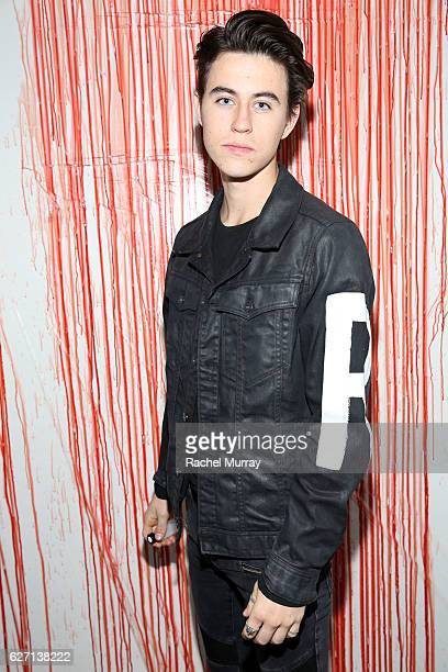 Actor Nash Grier attends the Fullscreen Original 'The Deleted' premiere party on December 1 2016 in Los Angeles California
