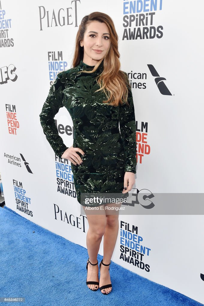 Actor Nasim Pedrad attends the 2017 Film Independent Spirit Awards at the Santa Monica Pier on February 25, 2017 in Santa Monica, California.