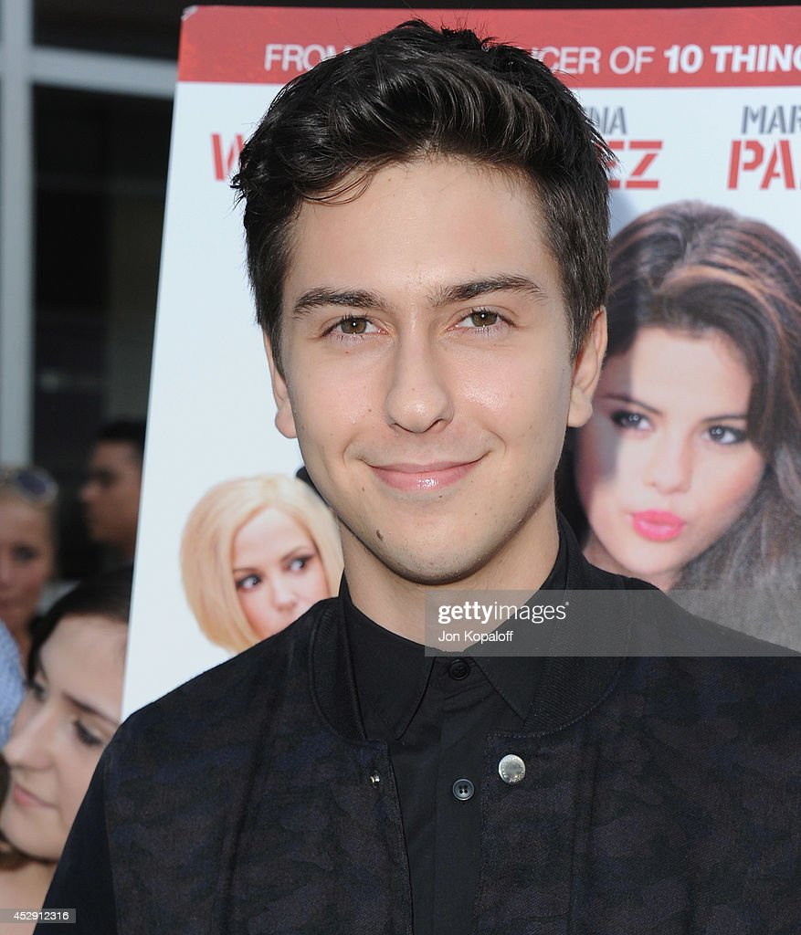 Actor <a gi-track='captionPersonalityLinkClicked' href=/galleries/search?phrase=Nat+Wolff&family=editorial&specificpeople=4183919 ng-click='$event.stopPropagation()'>Nat Wolff</a> arrives at the Los Angeles Premiere 'Behaving Badly' at ArcLight Hollywood on July 29, 2014 in Hollywood, California.