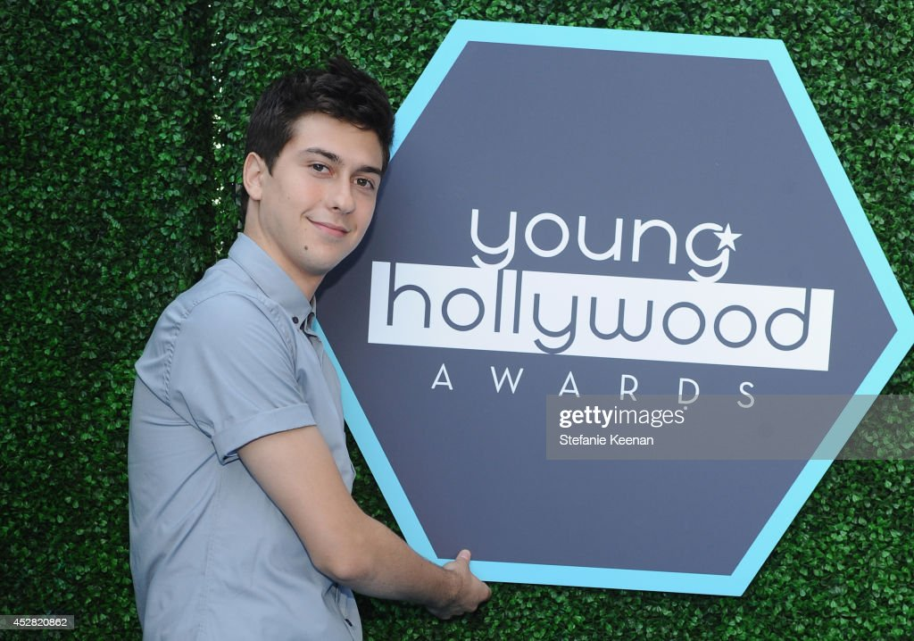 Actor <a gi-track='captionPersonalityLinkClicked' href=/galleries/search?phrase=Nat+Wolff&family=editorial&specificpeople=4183919 ng-click='$event.stopPropagation()'>Nat Wolff</a> attends the 2014 Young Hollywood Awards held at The Wiltern on July 27, 2014 in Los Angeles, California.