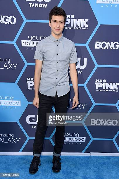 Actor Nat Wolff attends the 2014 Young Hollywood Awards held at The Wiltern on July 27 2014 in Los Angeles California