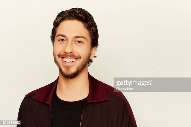 Actor Nat Wolff from Netflix's 'Death Note' poses for a portrait during ComicCon 2017 at Hard Rock Hotel San Diego on July 20 2017 in San Diego...