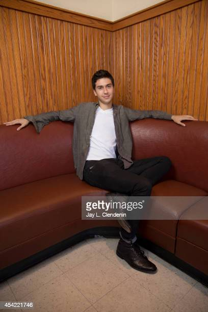 Actor Nat Wolff is photographed for Los Angeles Times on July 31 2014 in Studio City California PUBLISHED IMAGE CREDIT MUST READ Jay L Clendenin/Los...