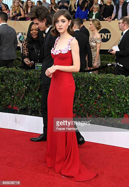 Actor Natalia Dyer attends The 23rd Annual Screen Actors Guild Awards at The Shrine Auditorium on January 29 2017 in Los Angeles California 26592_008