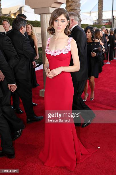 Actor Natalia Dyer attends the 23rd Annual Screen Actors Guild Awards at The Shrine Expo Hall on January 29 2017 in Los Angeles California
