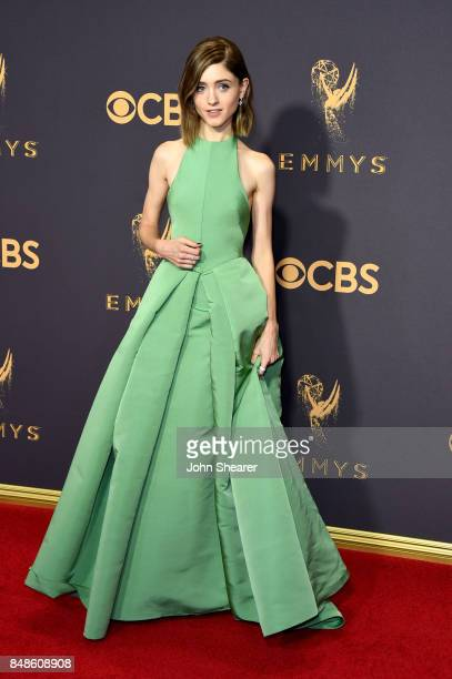 Actor Natalia Dyer attends the 69th Annual Primetime Emmy Awards at Microsoft Theater on September 17 2017 in Los Angeles California