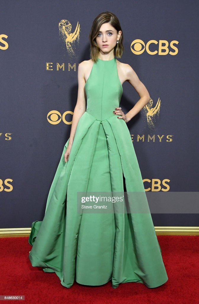 Actor Natalia Dyer attends the 69th Annual Primetime Emmy Awards at Microsoft Theater on September 17, 2017 in Los Angeles, California.