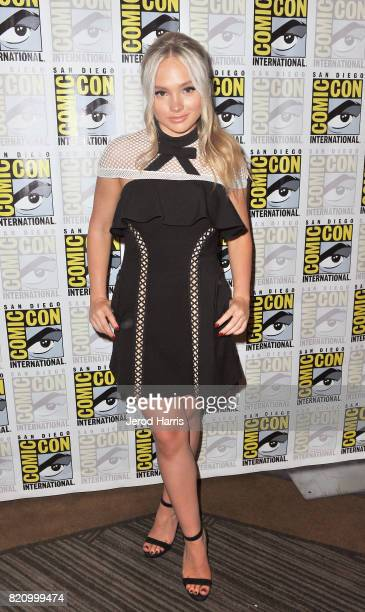 Actor Natalie Alyn Lind at 'The Gifted' Press Line during ComicCon International 2017 at Hilton Bayfront on July 22 2017 in San Diego California