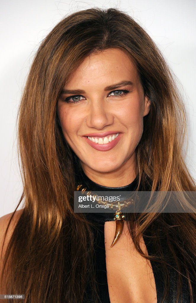 Actor Natalie Burn arrives for the Premiere Of J&R Productions' 'Halloweed' held at TCL Chinese 6 Theatres on March 15, 2016 in Hollywood, California.