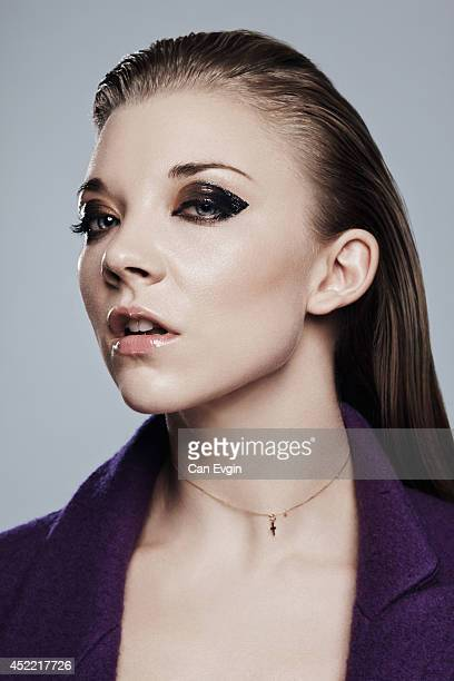 Actor Natalie Dormer is photographed for L'Officiel magazine in London England