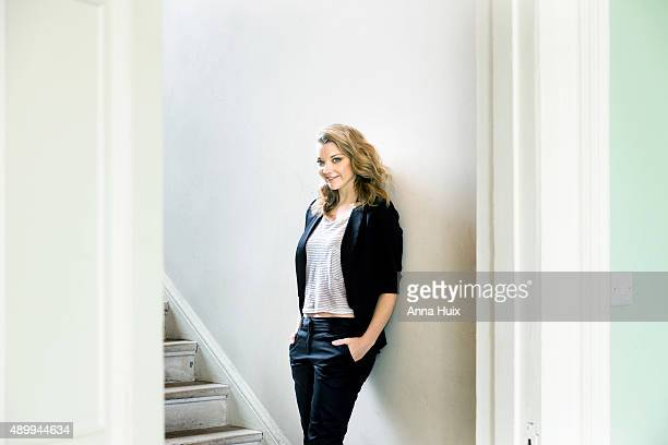 Actor Natalie Dormer is photographed for the Telegraph on July 29 2015 in London England