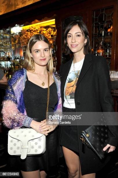 Actor Natalie Love and director Gia Coppola attend the Coach Rodarte celebration for their Spring 2017 Collaboration at Musso Frank on March 30 2017...