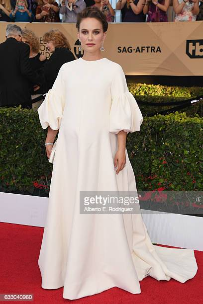 Actor Natalie Portman attends the 23rd Annual Screen Actors Guild Awards at The Shrine Expo Hall on January 29 2017 in Los Angeles California
