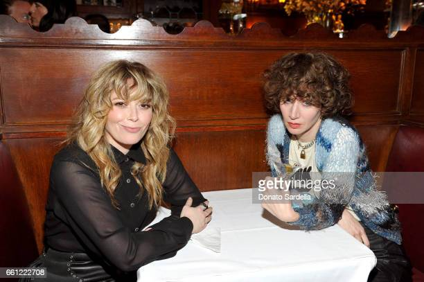 Actor Natasha Lyonne and director Miranda July attend the Coach Rodarte celebration for their Spring 2017 Collaboration at Musso Frank on March 30...