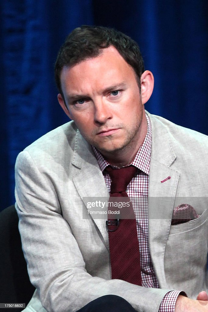 Actor Nate Corddry of the TV show 'Mom' attends the Television Critic Association's Summer Press Tour - CBS/CW/Showtime panels held at The Beverly Hilton Hotel on July 29, 2013 in Beverly Hills, California.