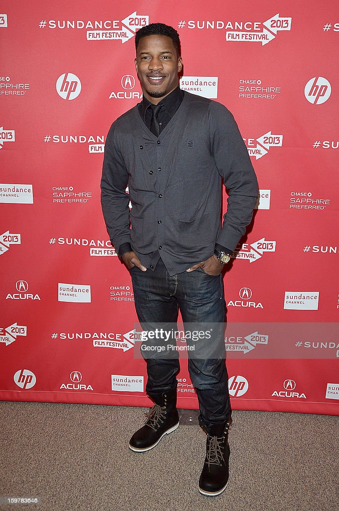 Actor Nate Parker attends the 'Aint Them Bodies Saints' premiere at Eccles Center Theatre during the 2013 Sundance Film Festival on January 20, 2013 in Park City, Utah.