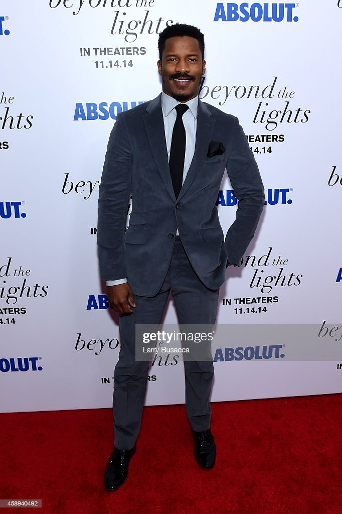 Actor Nate Parker attends The New York Premiere Of Relativity Media's 'Beyond the Lights' at Regal Union Square Stadium on November 13 2014 in New...