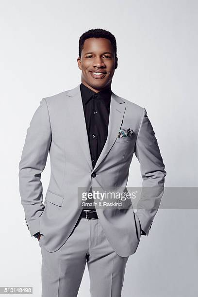 Actor Nate Parker poses for a portrait at the 2016 Film Independent Spirit Awards on February 27 2016 in Santa Monica California